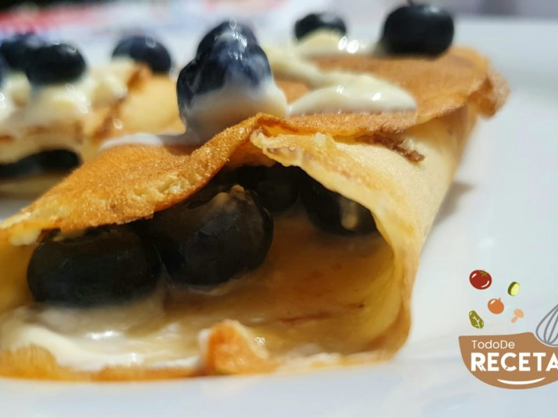 Blue Berries Pancakes Gluten Free