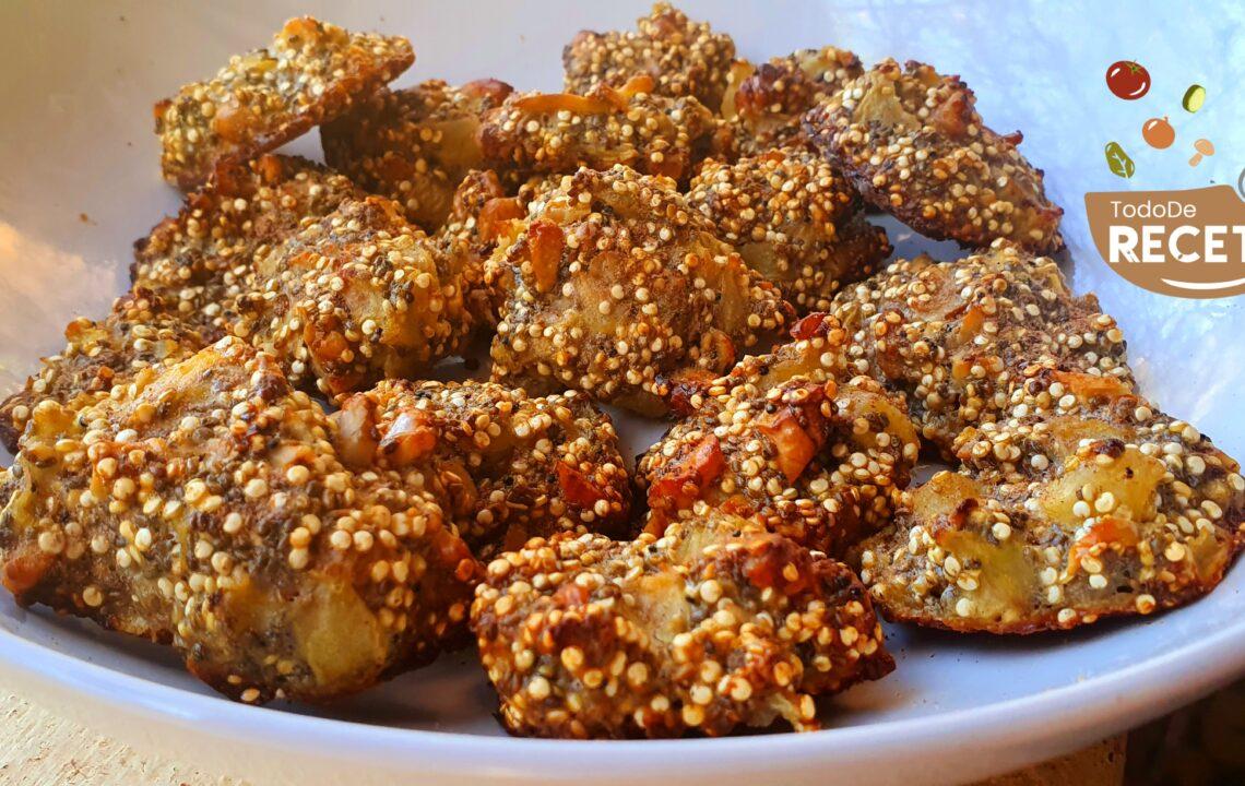 Keto Cookies de manzana y frutos secos